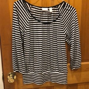 Chico soft striped top